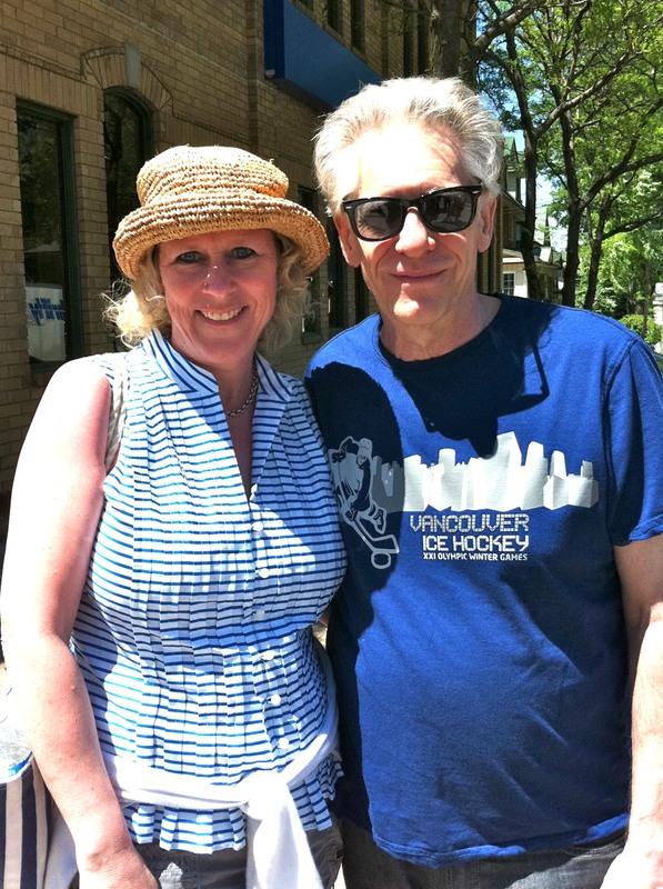 Suzie and David Cronenberg
