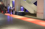 mini red carpet inside TIFF Lightbox (Photo by Suzie)