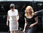 Emily Hampshire and Sarah Gadon (Photo by Suzie)